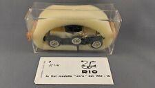"RIO Models #7 Fiat ""Zero"" 1914 1:43 Scale Vintage Model Car - Original Condition"