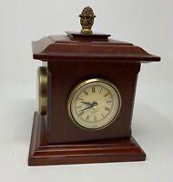 Bombay Company 2002 Desk Clock, Hygrometer, Barometer, Thermometer, Model 6HKS