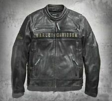 Harley Davidson Passing Link Leather Jacket For Men