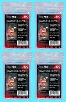 400 ULTRA PRO Soft CARD SLEEVES NEW Penny Sleeve Trading Baseball Archival Safe