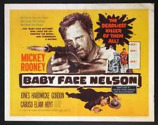 """BABY FACE NELSON""-ORIGINAL 22 X 28 HALF SHEET-POSTER-MICKEY ROONEY"