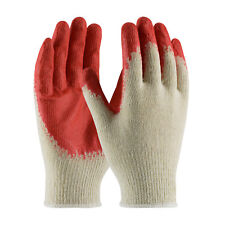 Pi 00004000 P 39-C121/L Cotton/Polyester, Red Latex Coated Palm, Econ Grade Gloves per 12