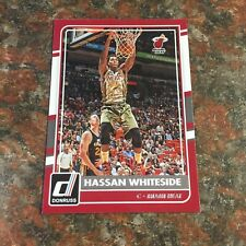 Hassan Whiteside 2015-16 Donruss Basketball #157 NBA Miami Heat Center