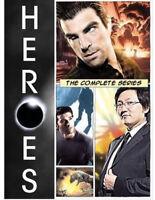 Heroes: The Complete Series (DVD, 2010, 24-Disc Set) Seasons 1-4 Brand New
