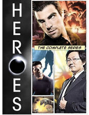 Heroes: The Complete Series (DVD, 2010, 24-Disc Set) Seasons 1-4 Brand New