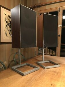 Bang & Olufsen BeoVox S45-2 Speakers - B&O T6312 Matching Set w/ Stands & Cables