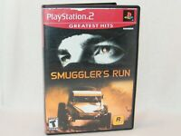 Smuggler's Run Greatest Hits . Sony PlayStation 2 / PS2 Game Complete w/ Manual