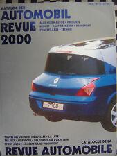 rare SALON AUTOMOBILE REVUE 2000 KATALOGNUMMER AUTOMOBIL CATALOGUE