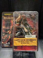 NECA Pirates of the Caribbean Jack Sparrow Series 1  New