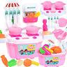 Mädchen Spielzeug Rolle spielen Mini-Simulation Geschirr Geschirr Kochgeschirr