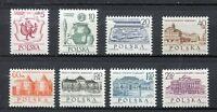 35763) Poland 1965 MNH 700th Anniversary Of Warsaw 8v