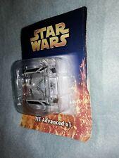 Star Wars  Model  TIE Advanced x1 2006 De agostini rare and Collectable Model