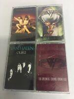 Van Halen Cassette Tapes Lot Of 4