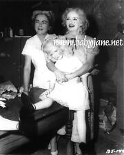 005 BETTE DAVIS HOLDING BABY JANE DOLL ON SET PHOTO