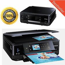 Epson Wireless Inkjet All-In-One Photo Scanner Copier Printer-Printable CD DVD
