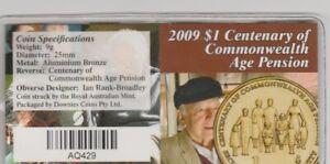 2009 Centenary Age Pension (BR126)