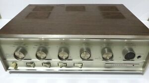 SHERWOOD MODEL S-9500a Amplifier 1960's-tested and works