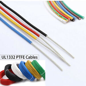 UL1332 Cable PTFE FEP Stranded Wire OD 1mm-2.5mm 14/16/18/20/22/24/26/28AWG