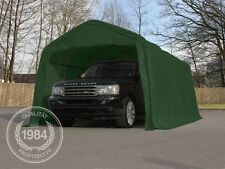Zeltgarage 3,3x4,8m Weidezelt Carport Foliengarage Zelt grün PVC 550 g/m²
