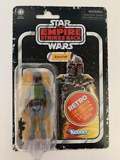 "Star Wars 3.75"" Retro Collection BOBA FETT Vintage Kenner Packaging New Sealed"