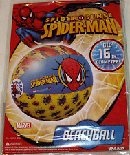 """Spiderman Inflatable Beach Ball 16"""" / Pool Toys"""
