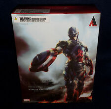 "Marvel Comics Variant CAPTAIN AMERICA Play Arts Kai 10"" Figure Square Enix"