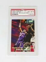 2000 Fleer Premium 10th Anni-Vince-ry 98-99 Collect. Vince Carter /15 PSA 8 POP2