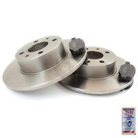 Discos de Freno Pastillas de Freno Eje Delantero para CITROËN C2 Jm _ C3 i cc :