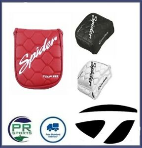 Brand New Taylormade Golf Spider Tour Cover Golf Putter Headcover