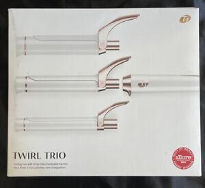 T3 Twirl Trio Curling Iron with three Interchangeable Barrels 76584 Ceramic