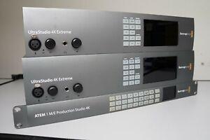 joblot of Blackmagic items - Production studio M/E 1 and Ultrastudio 4k extreme