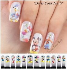 Water Decals - Mickey Nail Wrap Sticker Transfer Disney DIY Full  Stickers -  UK