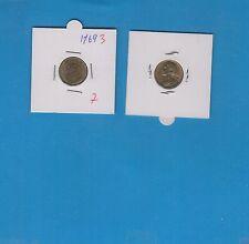 Gertbrolen 5 Centimes  Marianne en Cupro-Aluminium-Nickel 1969 Exemplaire N° 3