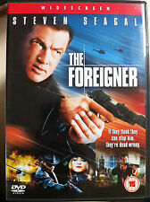 Steven Seagal THE FOREIGNER Action-Packed 2003 Martial Arts Film UK DVD