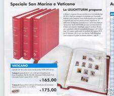 ALBUM VATICANO 1852/78  DOPPIA TASCHINA LUSSO PIO XI+PIO XII+GIOVANNI XXII+PAOLO