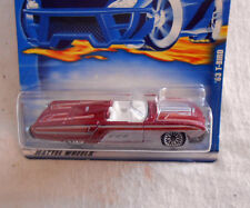 2001 Hot Wheels Mattel Wheels '63 T-Bird No 142 - New in original package