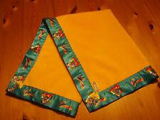 Baby bedding Handmade Yellow Fleece with Disney Mickey Mouse Club Satin Binding
