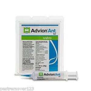 Advion Ant Gel 4 tubes + 1 plunger + 2 tips, 30 Gram Tubes Syngenta