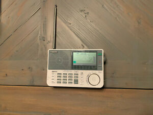 Sangean ATS-909X-BK Professional Multi-Band AM/FM/SW Receiver, White