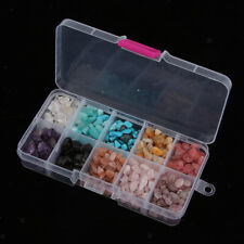 145g Mixed Gemstone Chips Beads Jewellery Making Smooth Semi Precious Crafts