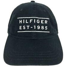 Tommy Hilfiger Hat Bar Logo Cap Script Block Spell Out Hip Hop Baseball Trucker