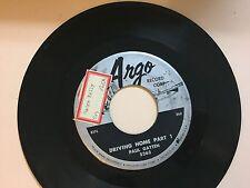 NORTHERN SOUL 45 RPM - PAUL GAYTEN - ARGO RECORDS 5263