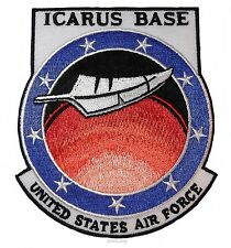 "Stargate Universe Icarus Base 4 1/4"" Tall Embroidered Patch"