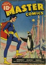 Master Comics #44 Photocopy Comic Book, Captain Marvel Jr., Bulletman