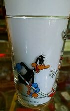 Warner Bros. Character Glass Hockey, 1990 Bugs Bunny, Porky Pig, Daffy Duck