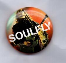 SOULFLY BUTTON BADGE American Heavy Metal Band - Umbabarauma - Bleed 25mm Pin