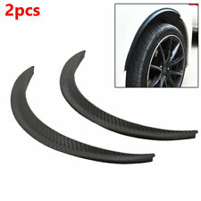 PVC Rubber Car Wheel Eyebrow Arch Trim Lips Fender Flares Protector Flexible
