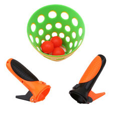 Click and Catch Twin Ball Game Indoor Outdoor Garden Toy Set Catch Ball DB