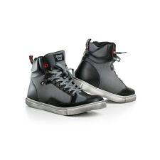 SHIMA SX-2 BLACK/GREY Vintage Retro Italian Sneaker Urban City Motorcycle Boots