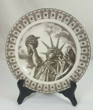 222 FIFTH SLICE OF LIFE MISS LIBERTY BY ANTAR DAYAL SALAD PLATE